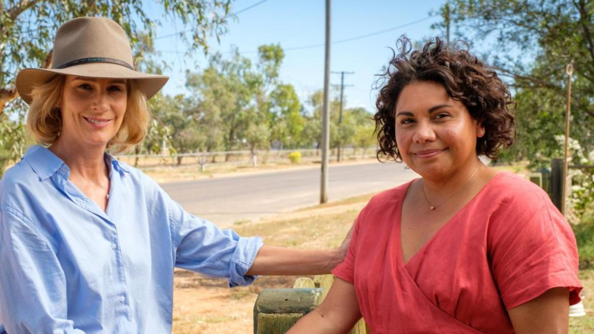 Deborah Mailman is keen to reunite with co-star Rachel Griffiths for the second season of Total Control next month.
