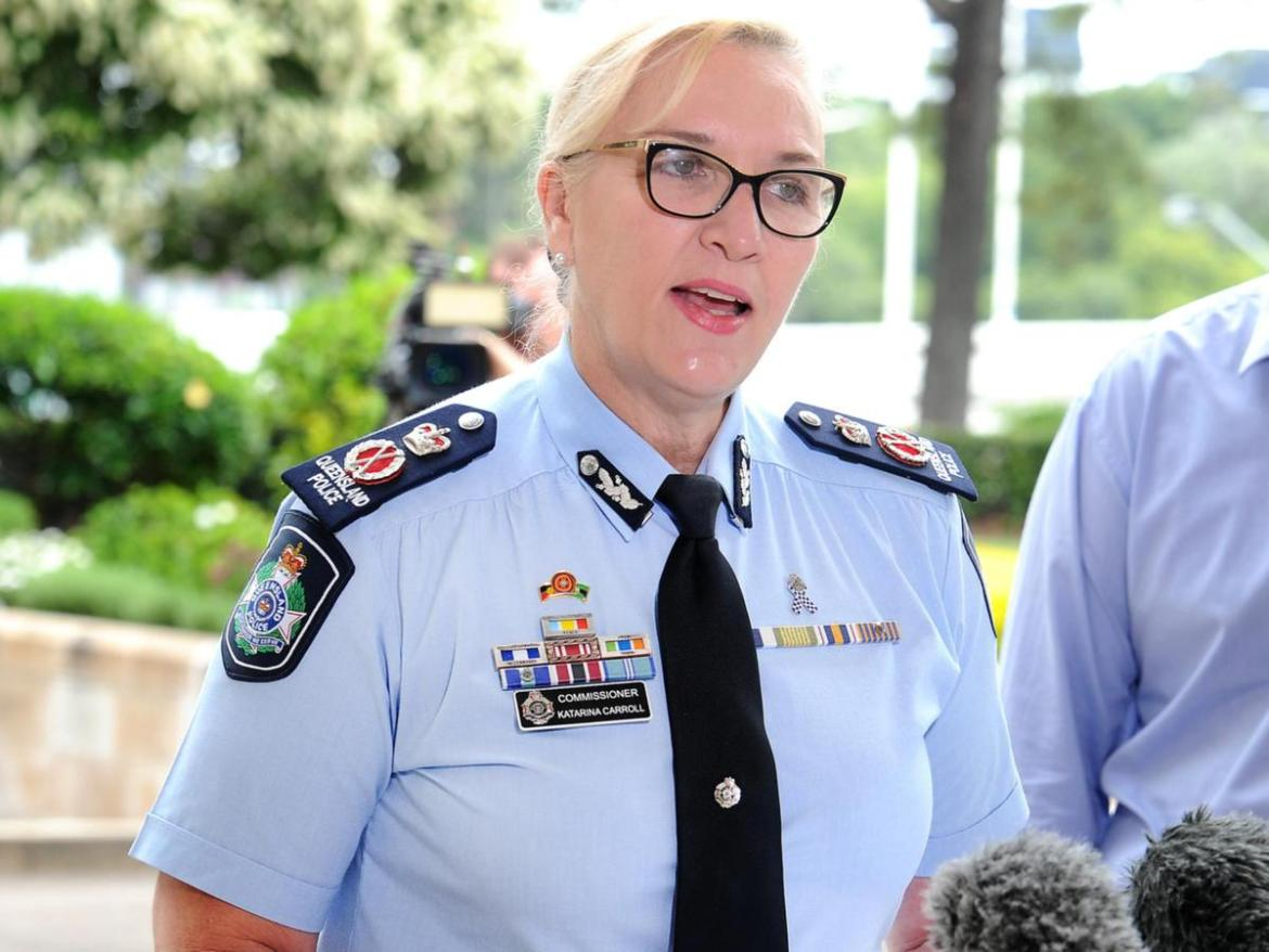 Police Commissioner Katarina Carroll says interviews with former gang members have brought to life the intimidation they face when they leave. Picture, John Gass