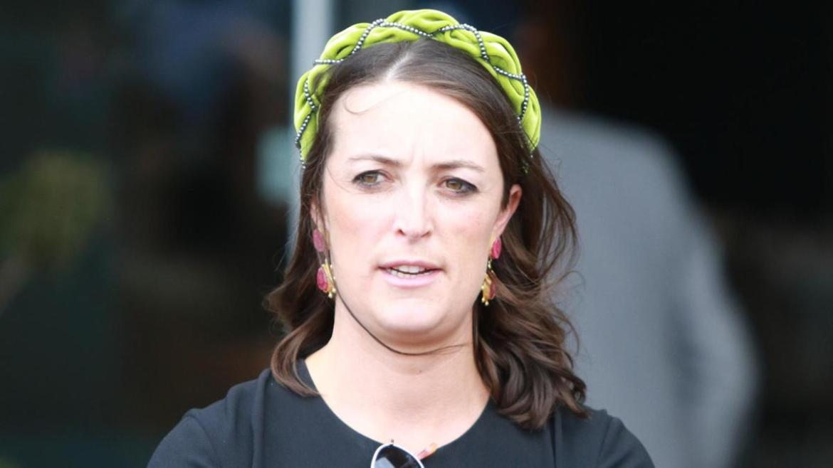 Annabel Neasham is looking forward to Regal Pom making his debut at Warwick Farm on Wednesday. Photo: Grant Guy