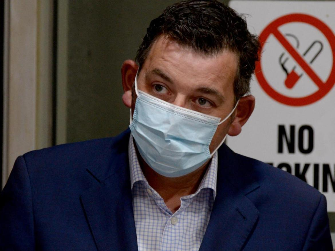 Victorian Premier Daniel Andrews faced tough questions about the government's handling of hotel quarantine.