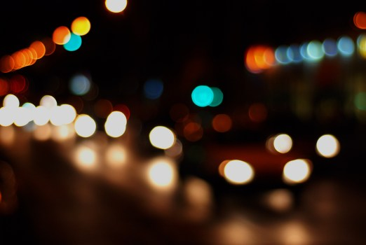 Car Black And Green Wallpaper Round Faded Lights During Nighttime 183 Free Stock Photo