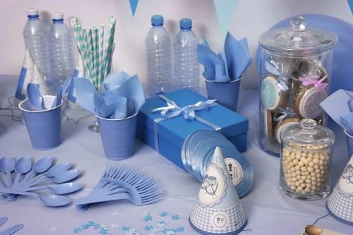 birthday, blue, bottle
