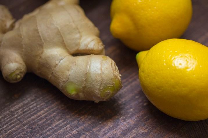 Ginger and 2 Lemon Fruit