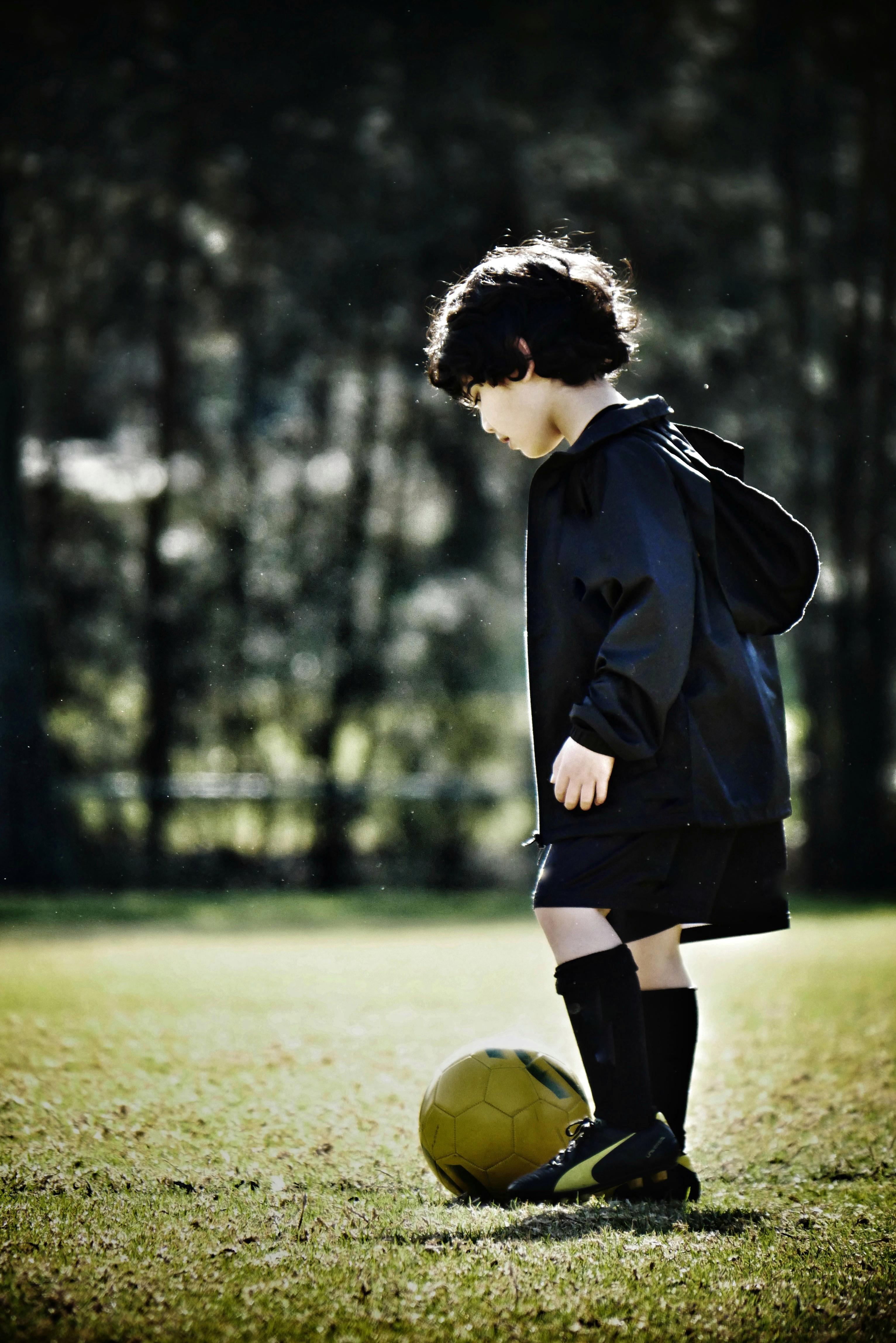 Background Sepak Bola : background, sepak, Stock, Photo, Football, Player,, Soccer