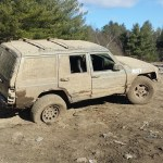 Free Stock Photo Of 4x4 Flat Tire Jeep