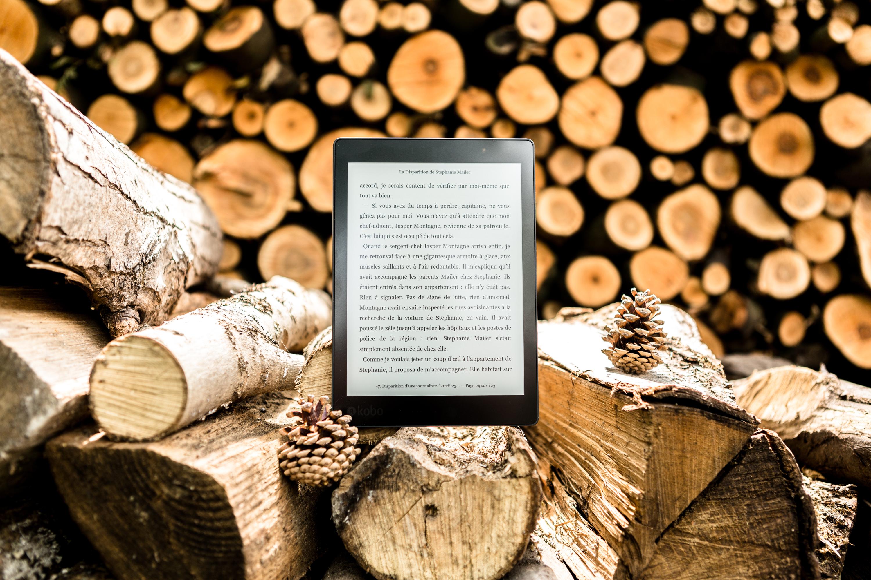 black e book reader