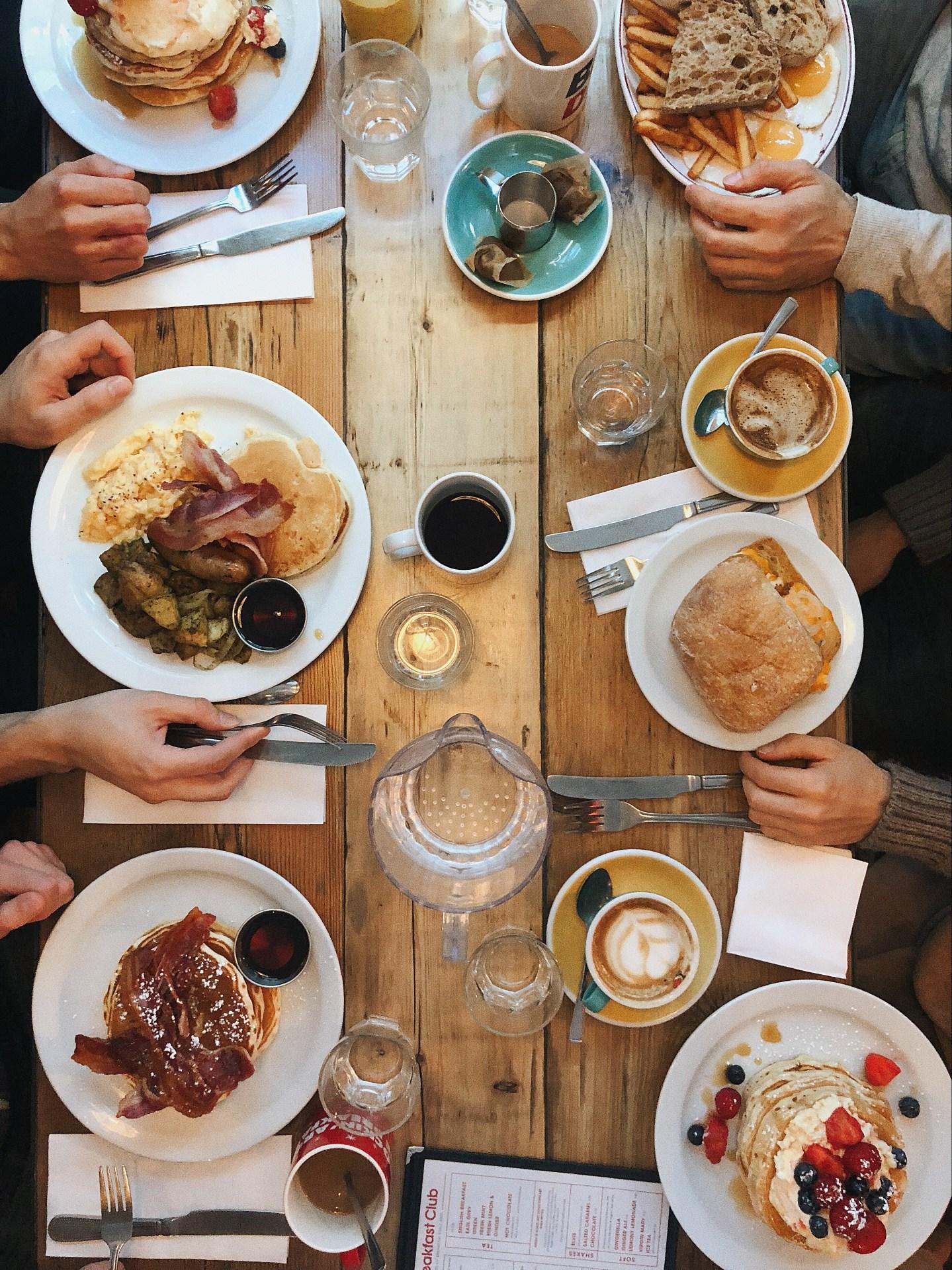 bekers, bijeenkomst, bord