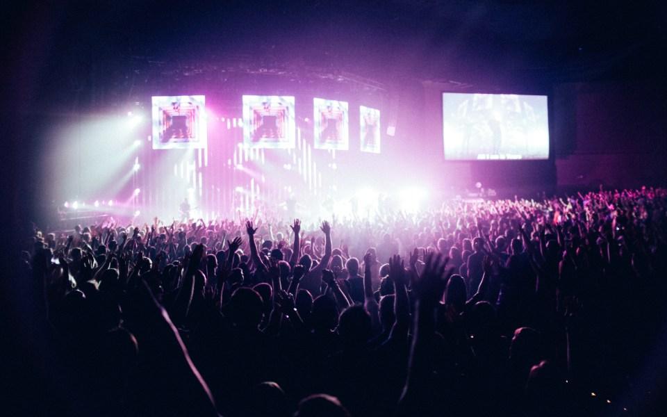 People in Concert