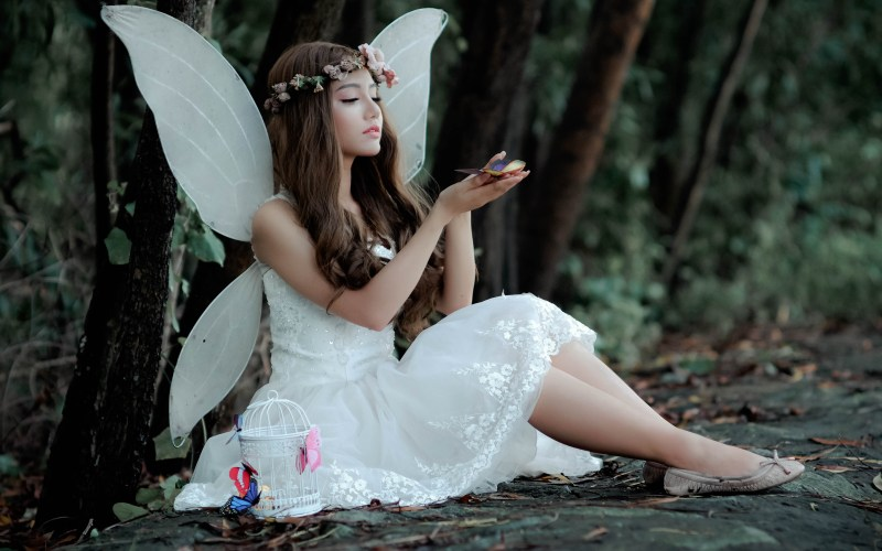 woman-wearing-fairy-costume