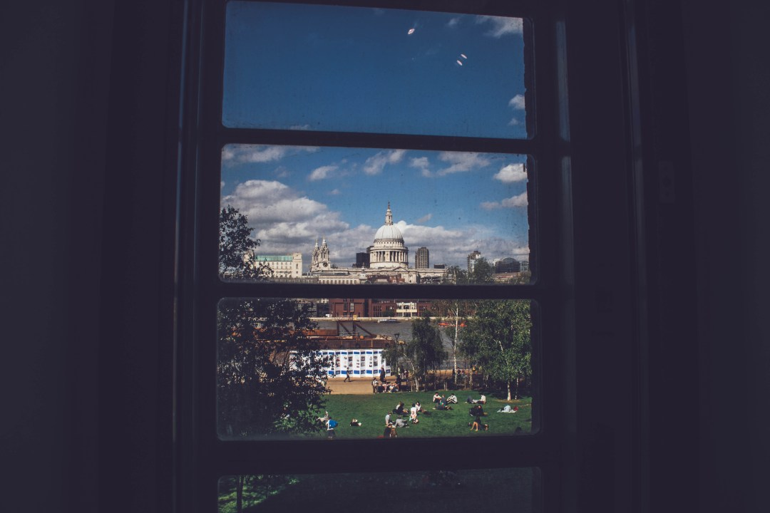 Window Overseeing St. Paul's Cathedral