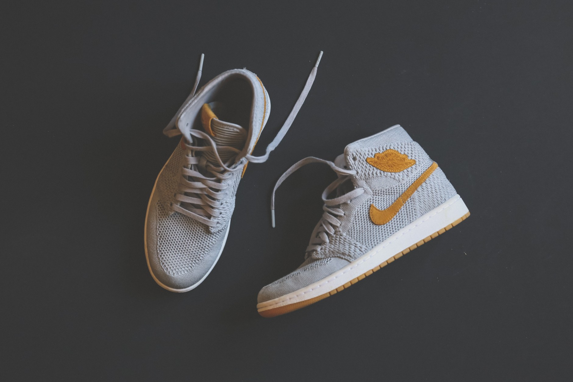pair of nike shoes