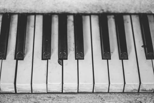 Hd Iphone X Wallpapers 4k Grayscale Piano Keys 183 Free Stock Photo