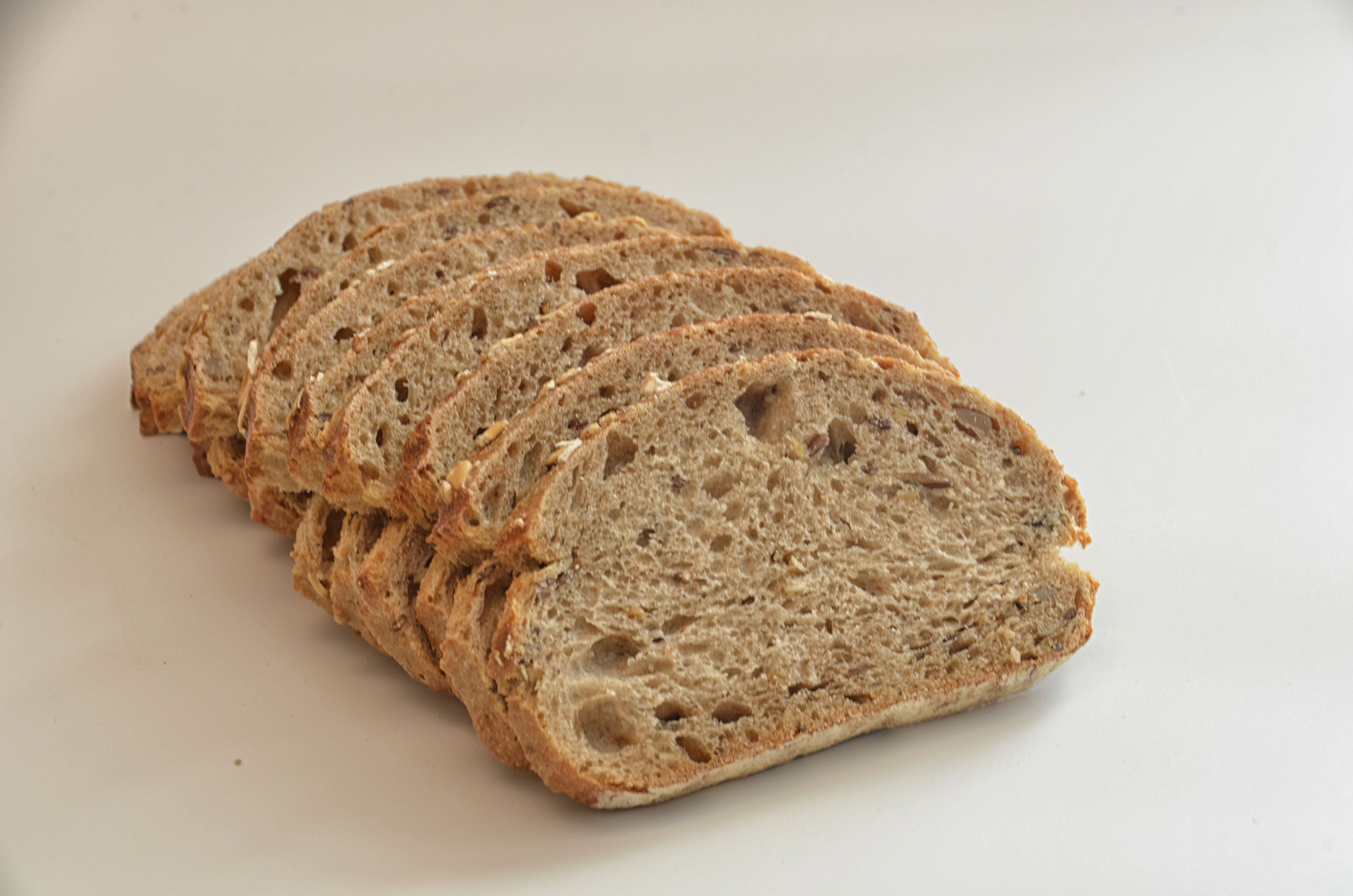 Several Brown Breads Free Stock Photo