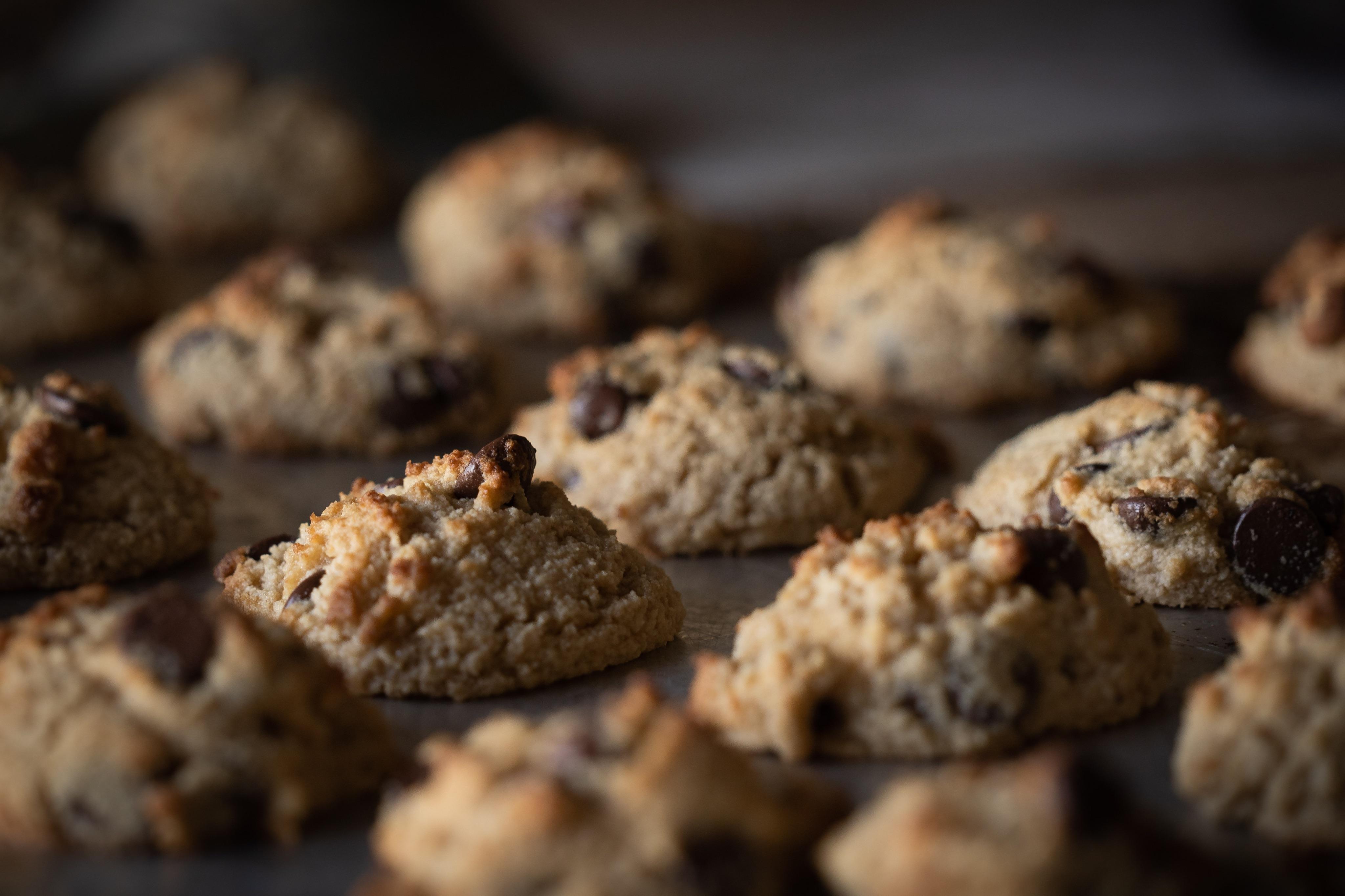 可口的, 好吃的, 巧克力碎片餅乾 的免費圖庫相片