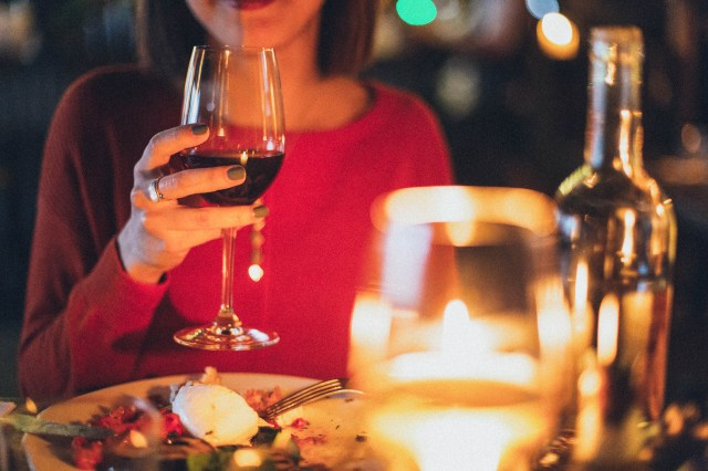 fierul în vin roșu