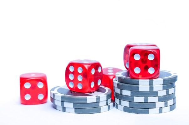 Blue Green and Purple Poker Chips \u00b7 Free Stock Photo