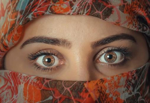 woman, girl, eyes, beauty, eyebrows