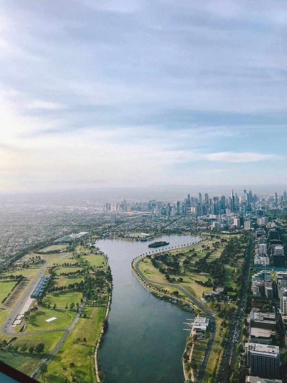 şehrin Havadan çekimi