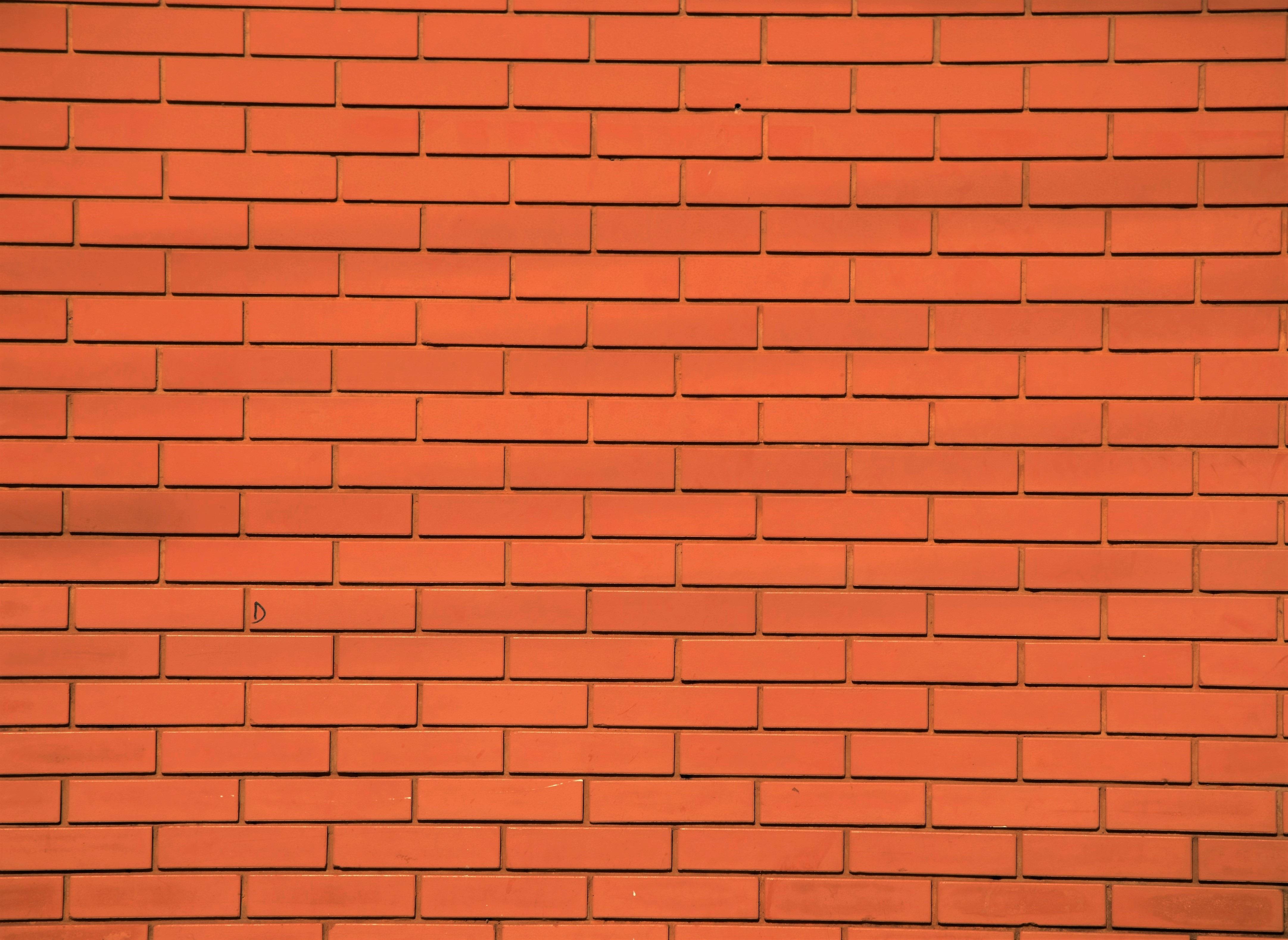 Wall Bricks Free Stock Photo