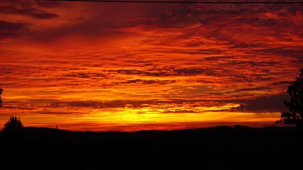 Orange Color Wallpaper Hd White Clouds Under Orange Sky During Daytime 183 Free Stock