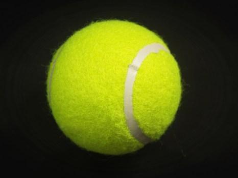 Wallpaper Black Green Tennis Ball On Tennis Racket On Floor 183 Free Stock Photo