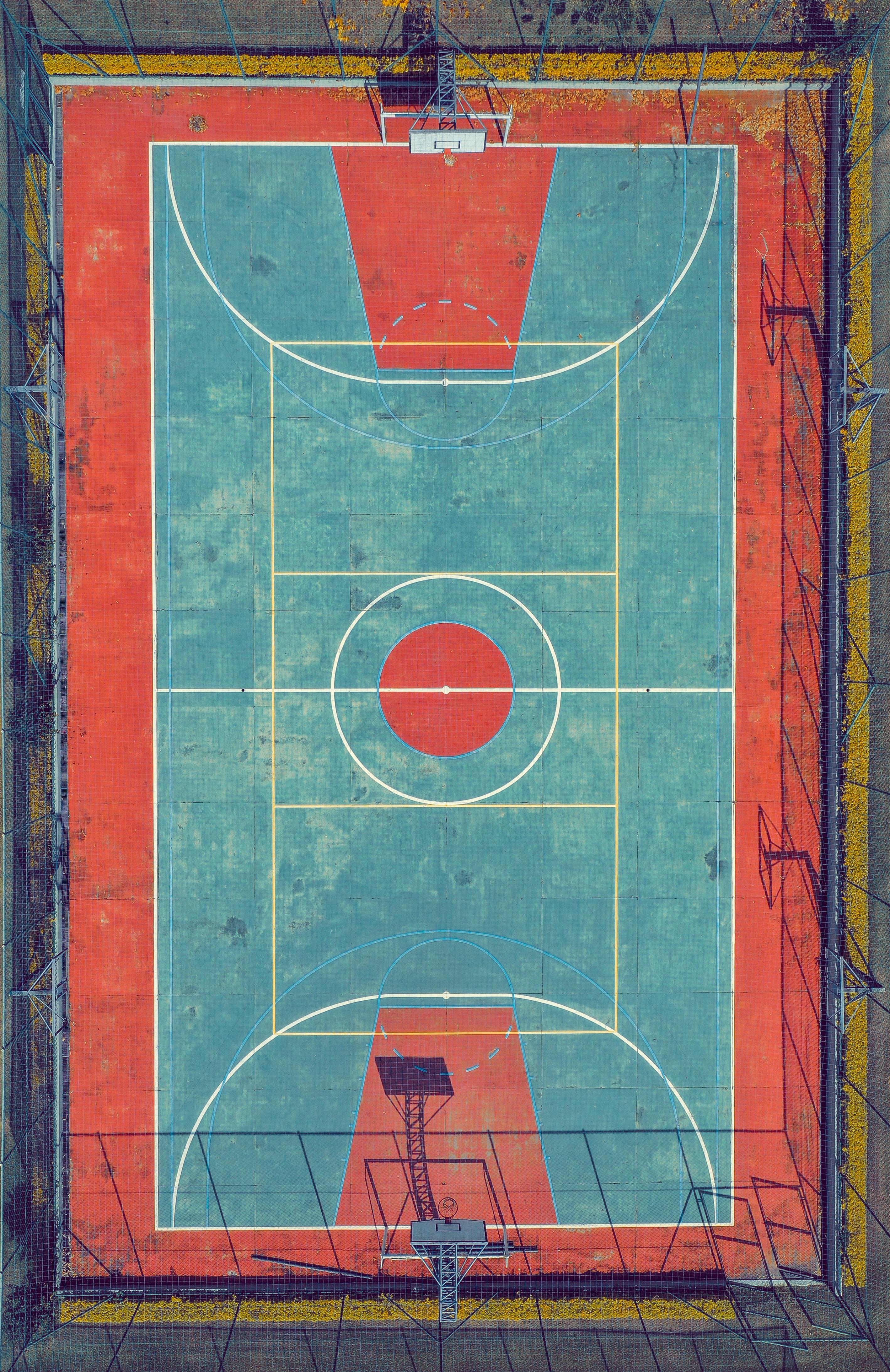 Ukuran Standar Lapangan Basket : ukuran, standar, lapangan, basket, Ukuran, Lapangan, Basket, Standar, Internasional,, Nasional,