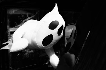 White and Black Panda Plush Toy