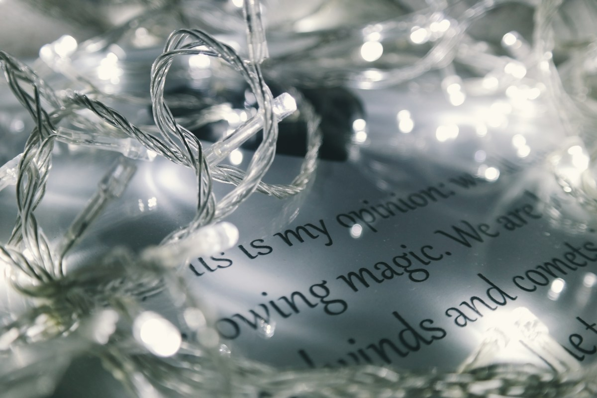 Free stock photo of lights, words, close-up, christmas lights