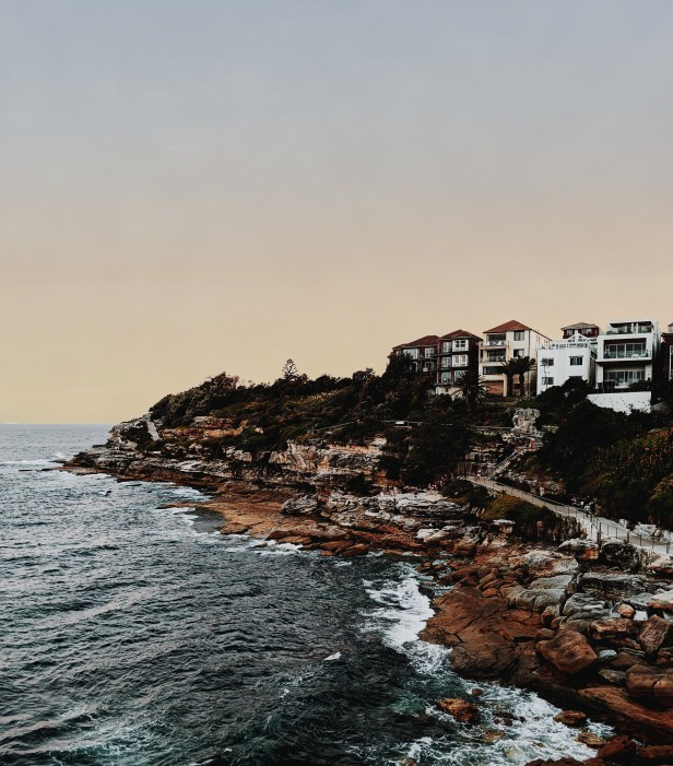 Scenic View Of Coastline During Dawn