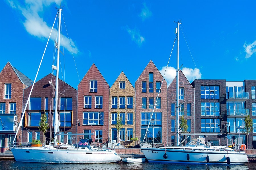 apartments, architecture, bay