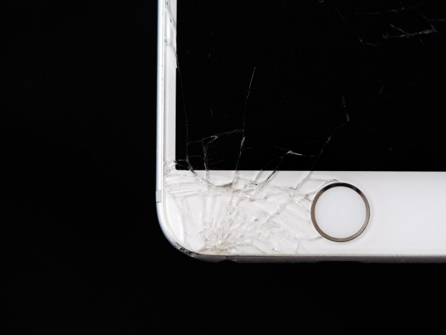 Close-up Photo of Iphone Tempered Glass