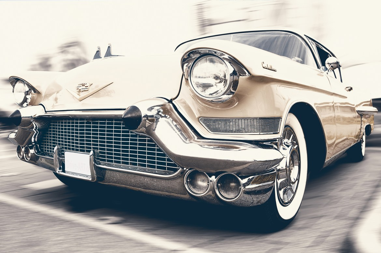 Sepia Photo of Vehicle