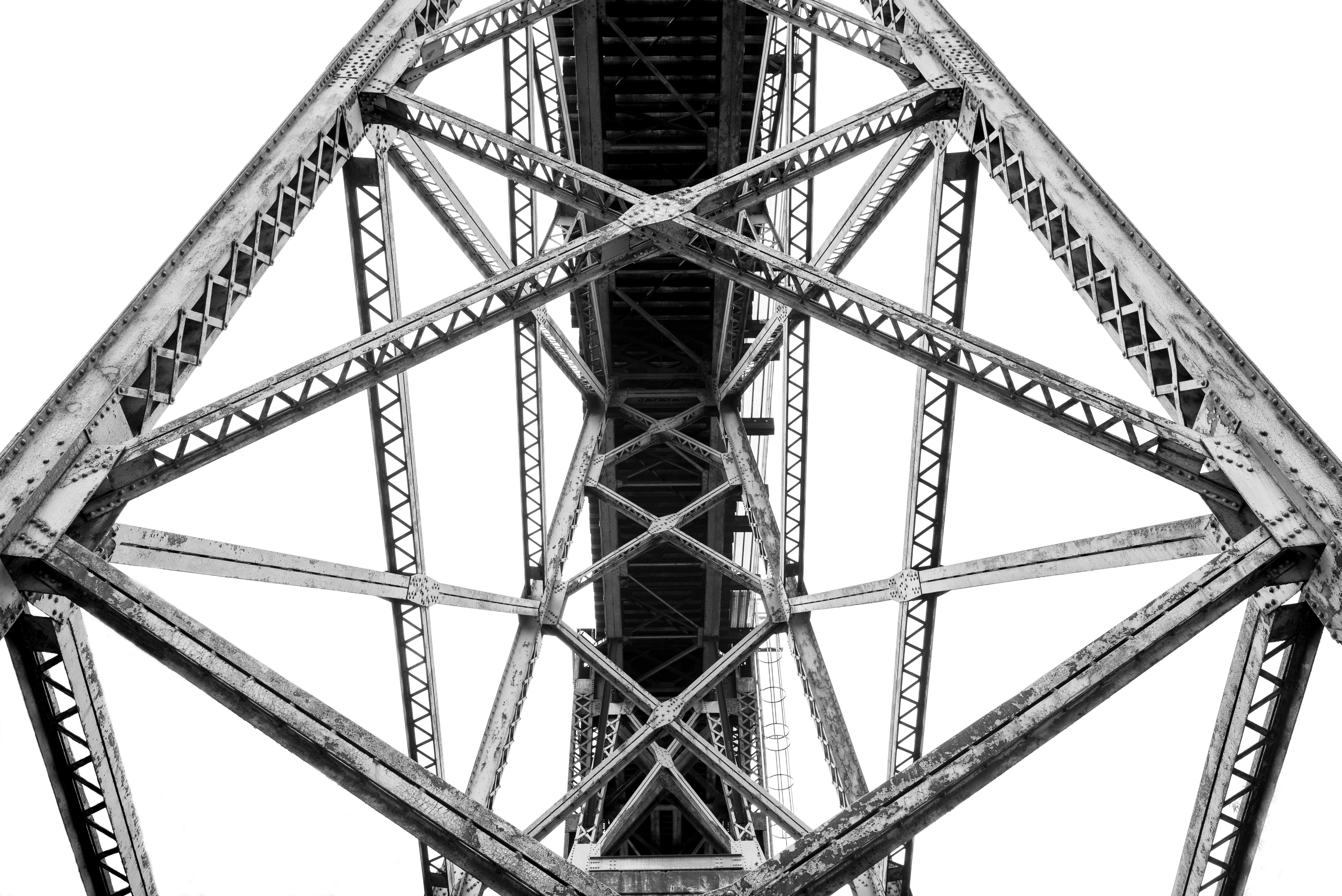 Iphone X Best Wallpapers Free Stock Photo Of Architecture Beams Black And White