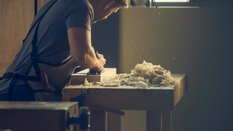 Free stock photo of man, person, working, work
