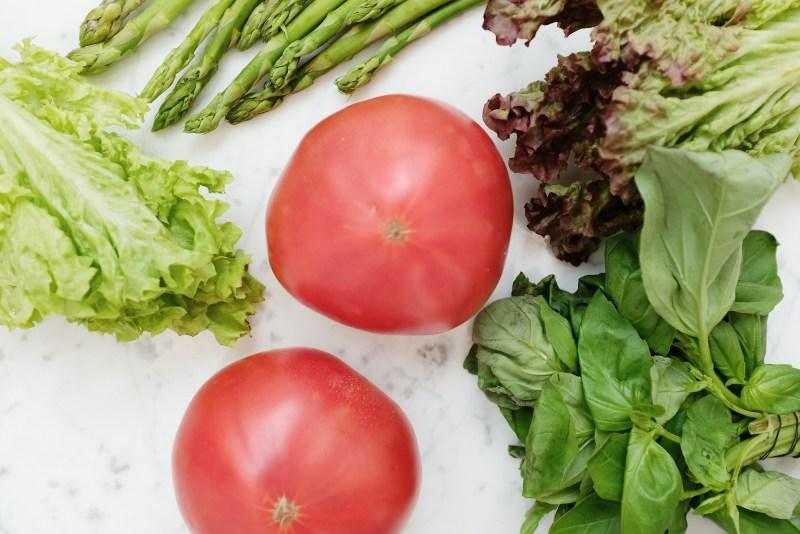 Red Tomato Beside Green Vegetable