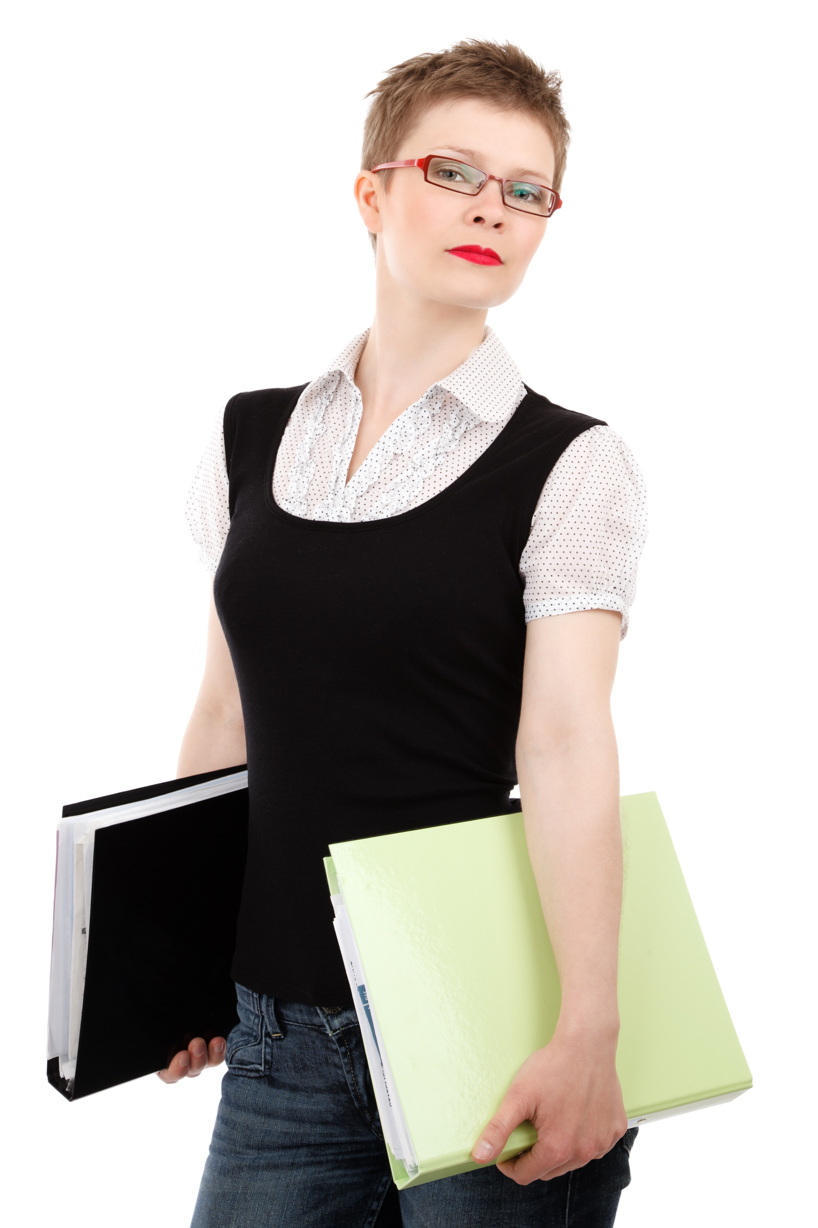 Woman In Black Scoop Neck Shirt Smiling Free Stock Photo
