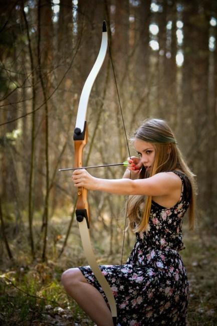 Free Stock Photo Of Adult Archery Beautiful