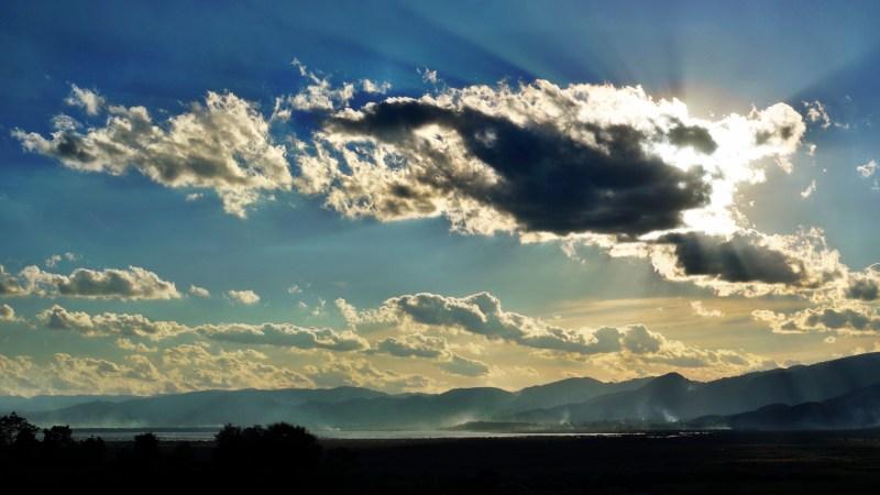 air, atmosphere, blue