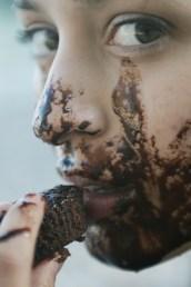 blur, chocolate, close -up