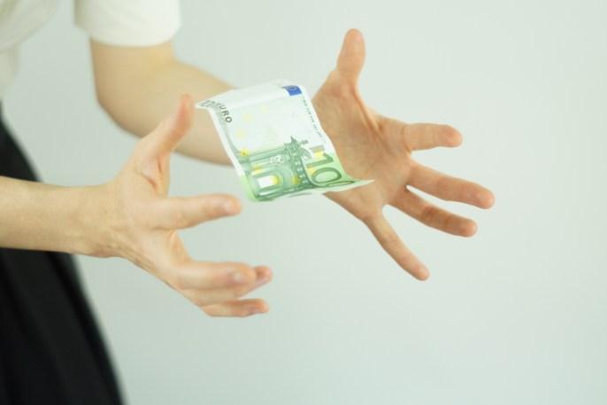 Free stock photo of hands, blur, money, focus