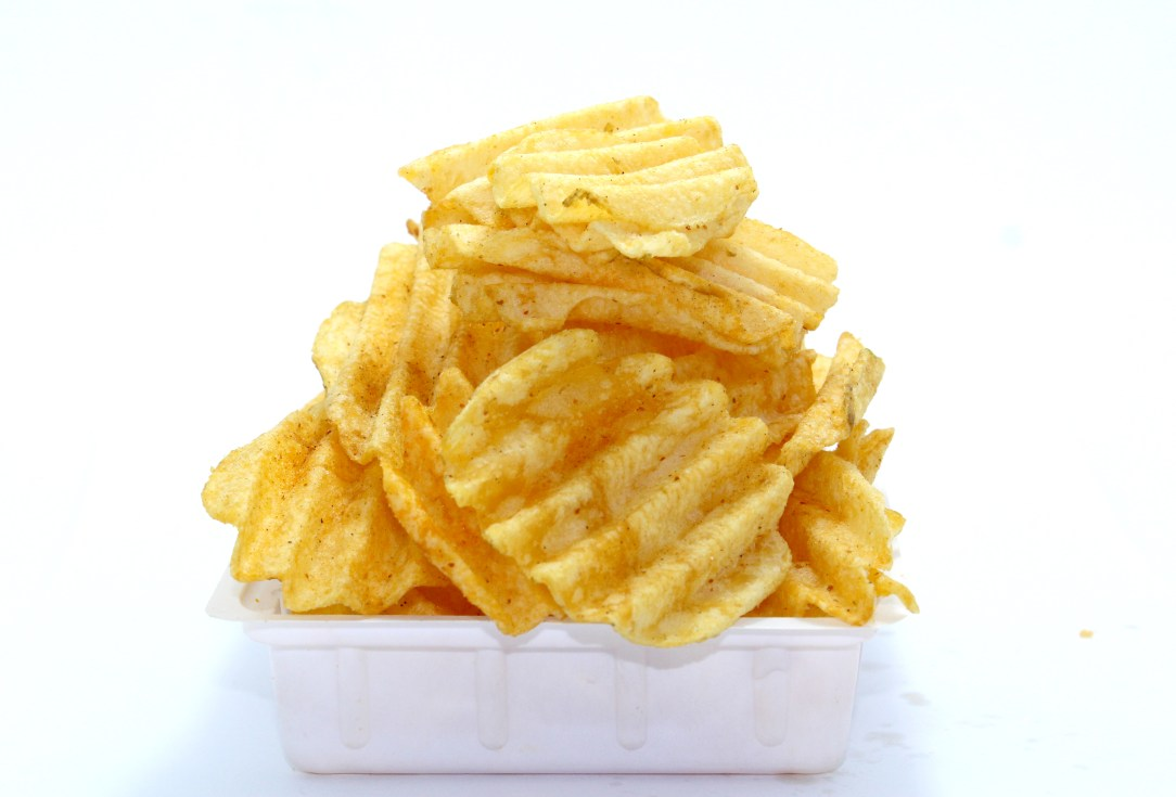 bowl calories chips crisp