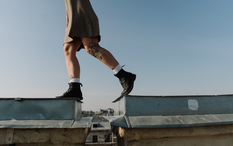 person-on-the-roof