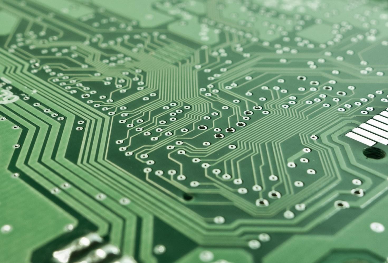 Electronic Green Circuit Board Royalty Free Stock Photos Image