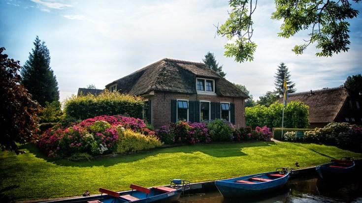 House Near Body of Water