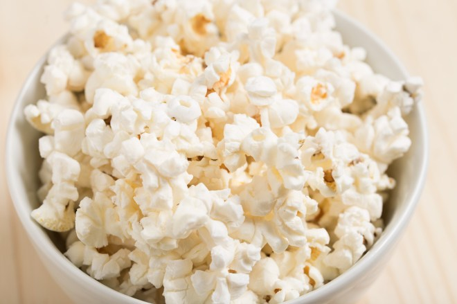 movie, popcorn, snack