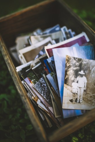 Old photos in the box