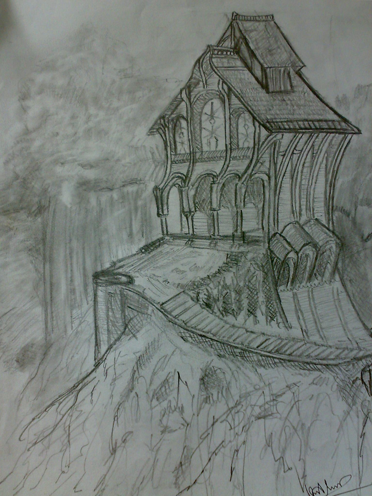 Lukisan Pensil Keren : lukisan, pensil, keren, Stock, Photo, Color, Pencil,, Drawing,, Manga