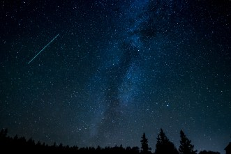 astronomy, comet, constellation