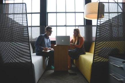 Free stock photo of people, office, working, macbook