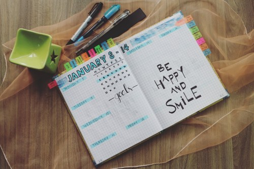 Motivational Quote, embrace life and smile
